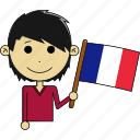 avatar, country, fantastic, flags, france, man, world icon