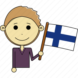avatar, country, fantastic, finland, flags, man, world icon