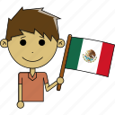 avatar, awesome, country, flags, man, mexico, world icon