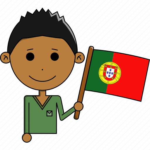 avatar, country, fantastic, flags, man, portugal, world icon