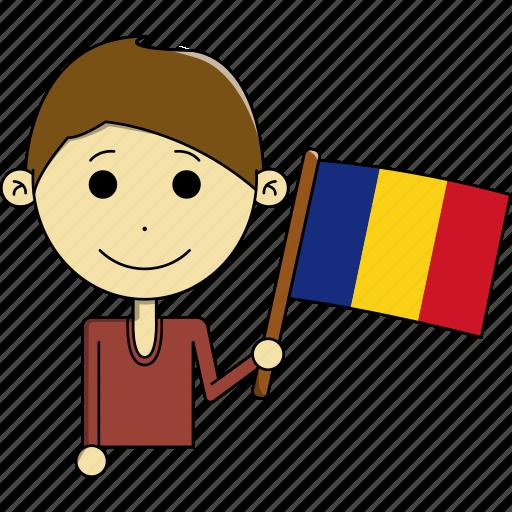 avatar, country, fantastic, flags, man, romania, world icon