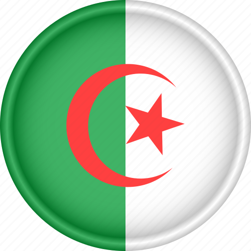 Africa, algeria, attribute, country, flag, national icon - Download on Iconfinder