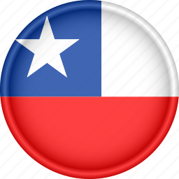 america, attribute, chile, country, flag, national icon