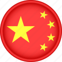 asia, attribute, china, country, flag, national icon
