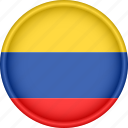 america, attribute, colombia, country, flag, national