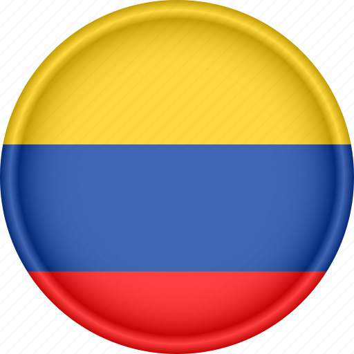 america, attribute, colombia, country, flag, national icon