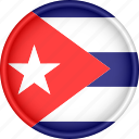america, attribute, country, cuba, flag, national