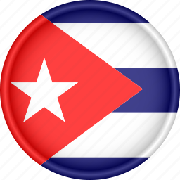 america, attribute, country, cuba, flag, national icon