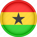 africa, attribute, country, flag, ghana, national