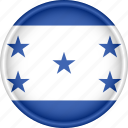 america, attribute, country, flag, honduras, national icon