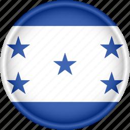 america, attribute, country, flag, honduras, national icon