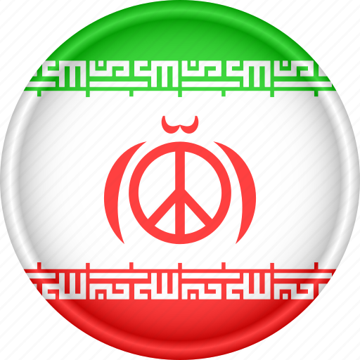 Asia, attribute, country, flag, iran, national icon - Download on Iconfinder