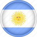 america, argentina, attribute, country, flag, national