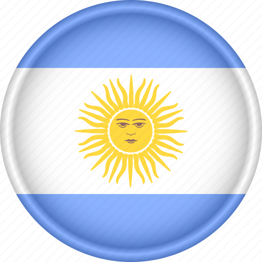america, argentina, attribute, country, flag, national icon
