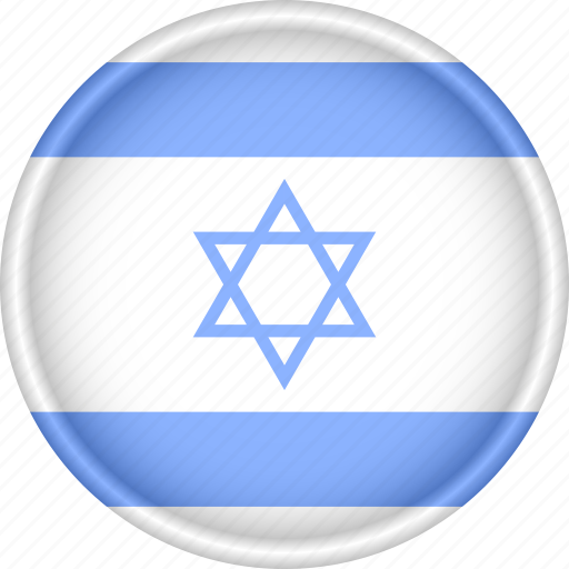 Asia, attribute, country, flag, israel, national icon - Download on Iconfinder