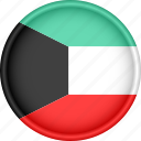 asia, attribute, country, flag, kuwait, national