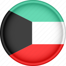 asia, attribute, country, flag, kuwait, national icon