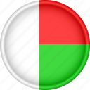 africa, attribute, country, flag, madagascar, national