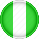 africa, attribute, country, flag, national, nigeria