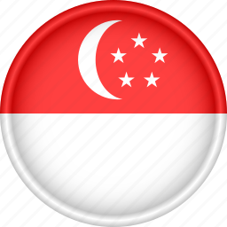 asia, attribute, country, flag, national, singapore icon