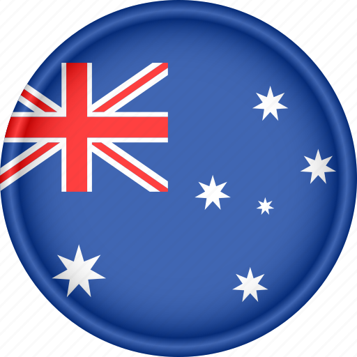 attribute, australia, country, flag, national, oceania icon