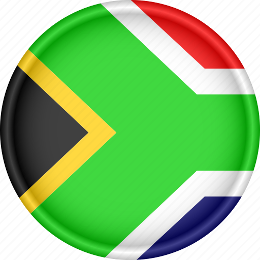 africa, attribute, country, flag, national, south africa icon