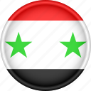 asia, attribute, country, flag, national, syria