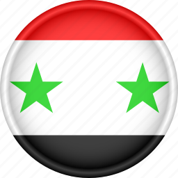 asia, attribute, country, flag, national, syria icon
