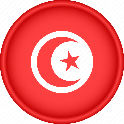 Africa, attribute, country, flag, national, tunisia icon - Download on Iconfinder