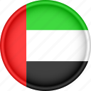 asia, attribute, country, flag, national, united arab emirates