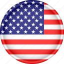 america, attribute, country, flag, national, us, usa