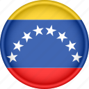 america, attribute, country, flag, national, venezuela