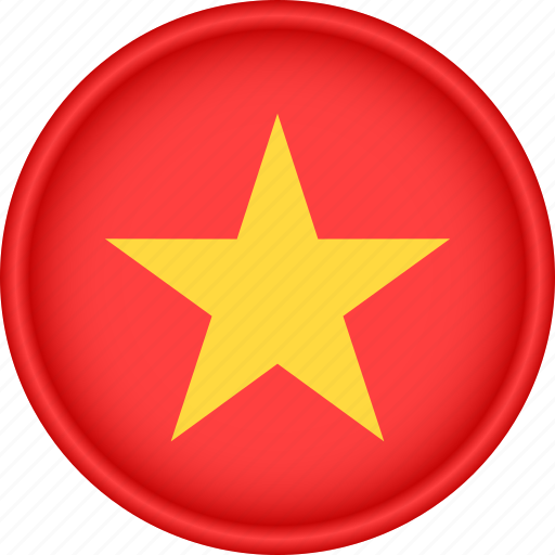 asia, attribute, country, flag, national, vietnam icon