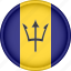 america, attribute, barbados, country, flag, national icon