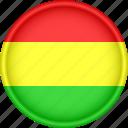 america, attribute, bolivia, country, flag, national
