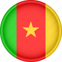africa, attribute, cameroon, country, flag, national