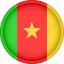 africa, attribute, cameroon, country, flag, national icon