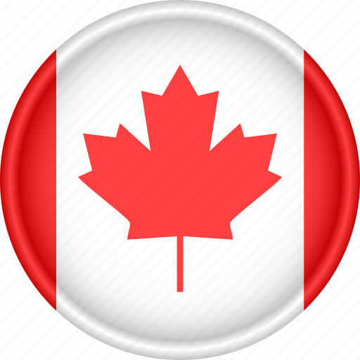 america, attribute, canada, country, flag, national icon