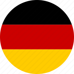 circle, country, flag, german, germany, national, republic icon