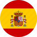 circle, country, espana, flag, national, spain, spanish