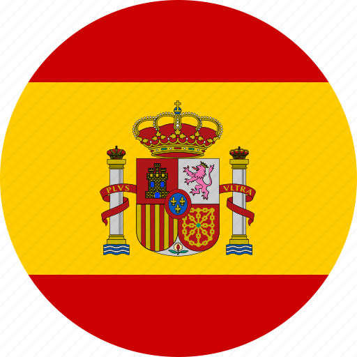 circle, country, espana, flag, national, spain, spanish icon