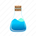 chemical, flask, liquid, potion, science, test