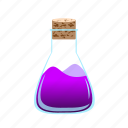 chemical, flask, liquid, potion, science, test icon