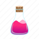 potion, liquid, flask, science, chemical, test