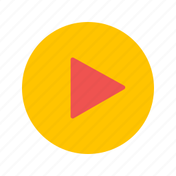 music, play, sport, video icon