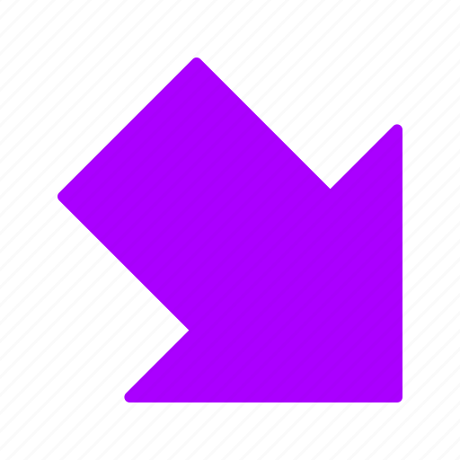 arrows, down, download, right icon