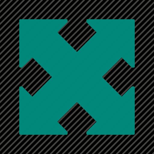 arrow, direction, expand, maximize icon