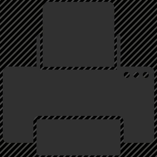 device, print, printer icon