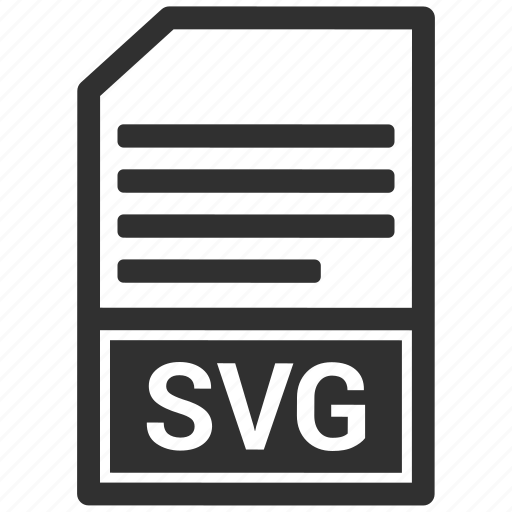file, format, svg icon