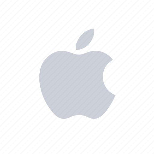 apple, apple logo, company, logo, technology icon